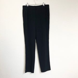 Armani Collezioni Black Dress Pants Stretchy